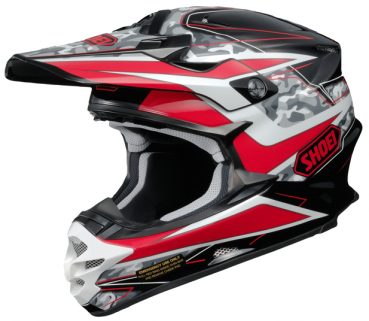 The new SHOEI VFX-W TURMOIL TC-1