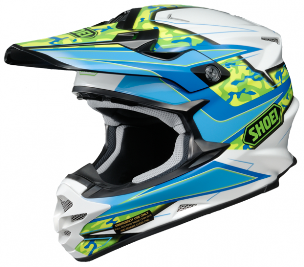 The new SHOEI VFX-W TURMOIL TC-2